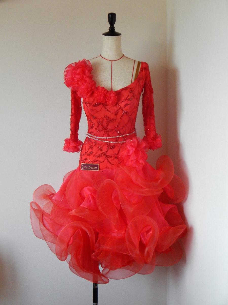 ブランドタグが完成しました!&くるくるスカートラテンドレス