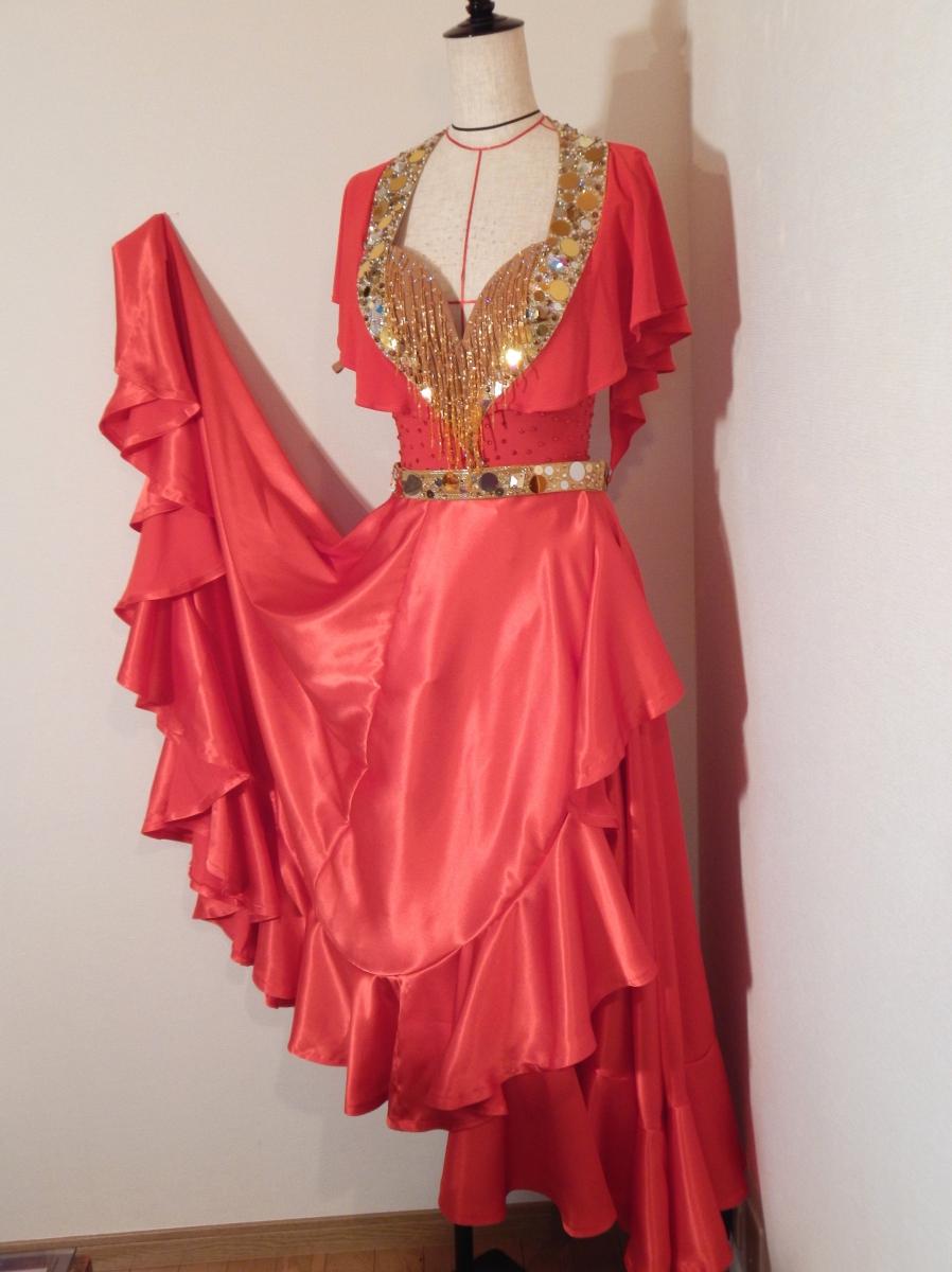 ドレスに合わせたパソスカート製作作品その2