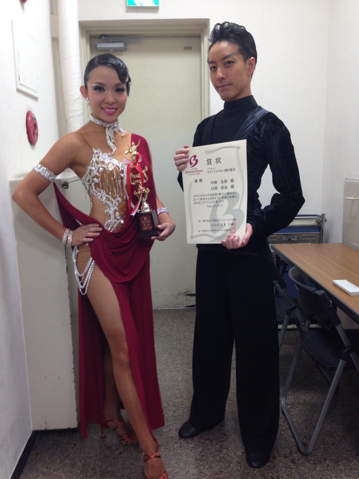 D級戦優勝でデビューの新作ドレスです!